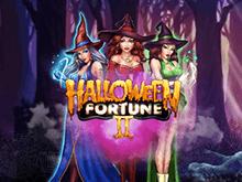 Играйте прямо сейчас в новый автомат Halloween Fortune II от Playtech
